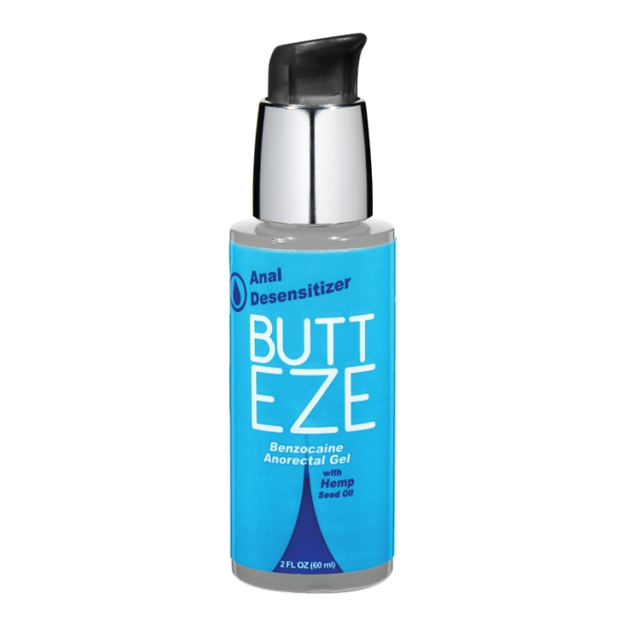 BUTT EZE ANAL DESENSITIZER W/HEMP SEED OIL 2OZ BOTTLE