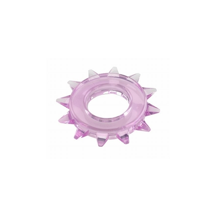 ELASTOMER C-RING ROUND STUDDED - PURPLE