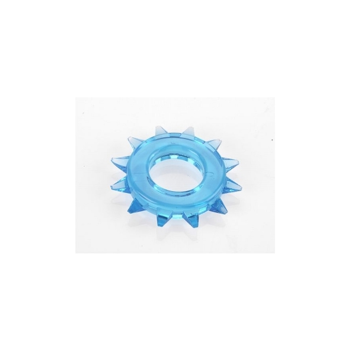 ELASTOMER C-RING ROUND STUDDED - BLUE