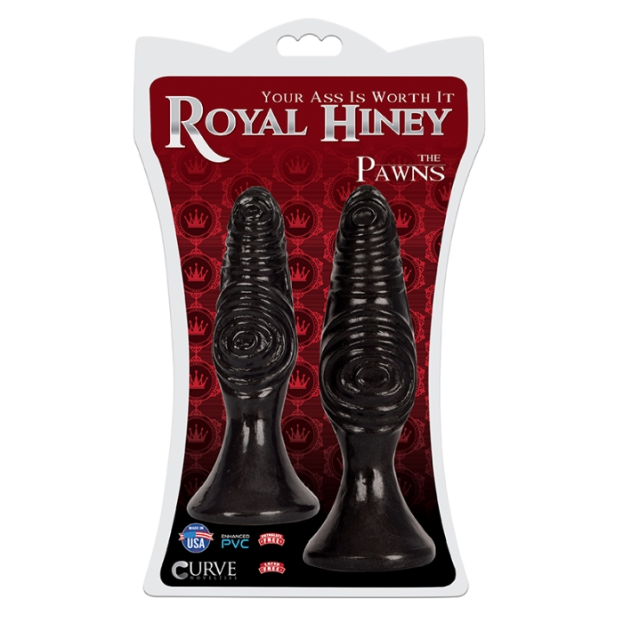 ROYAL HINEY VIBES - THE PAWNS - BLACK