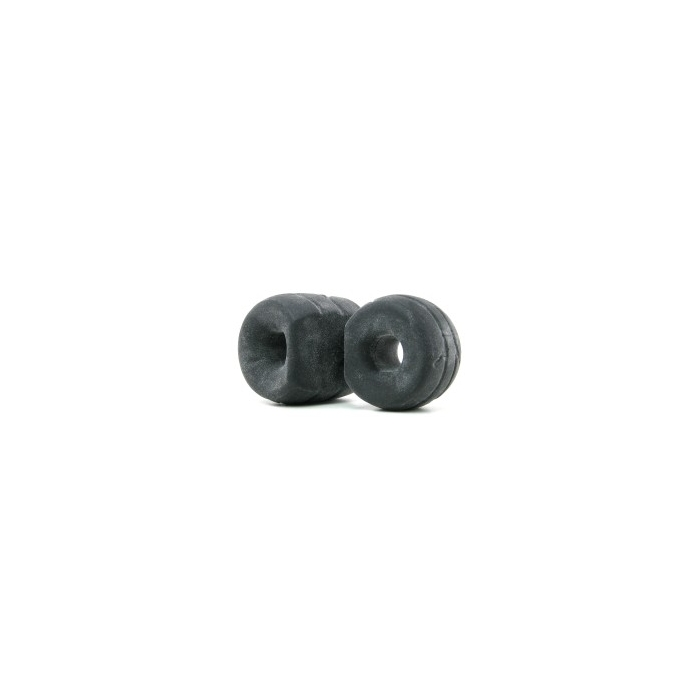 SILASKIN COCK & BALL RING - BLACK MATTE