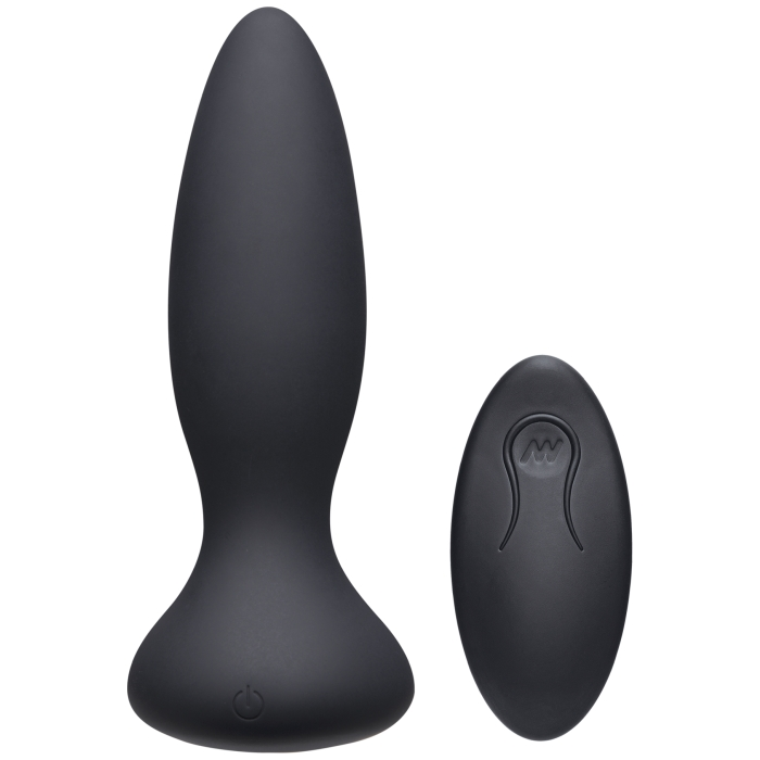 A-PLAY VIBE ADVENTUROUS RECHARGEABLE SILICONE ANAL BLK