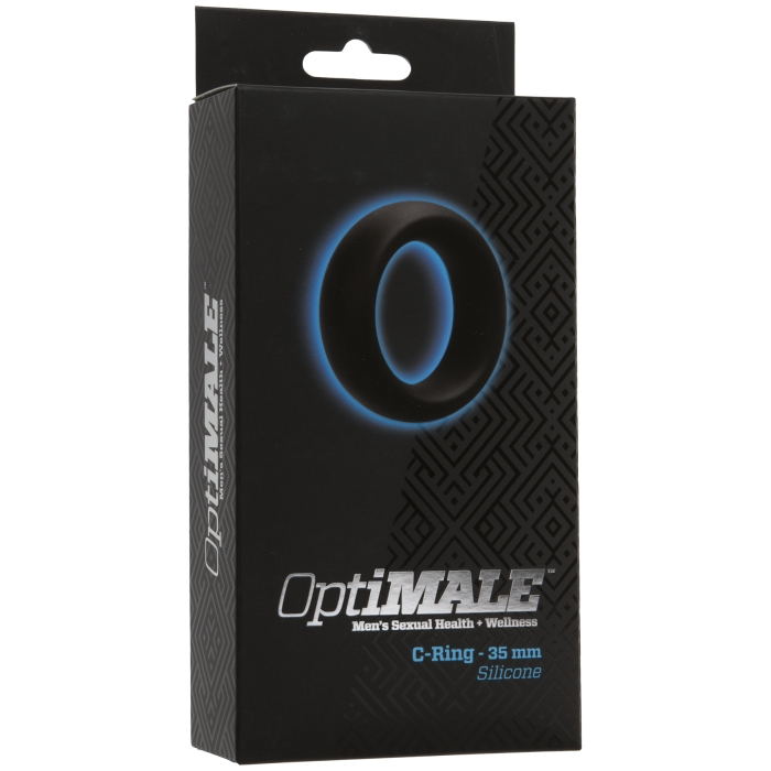 OPTIMALE - C-RING 35 MM SILICONE - BLACK