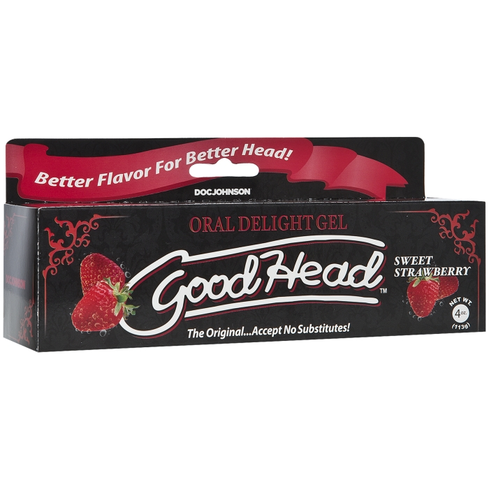 GOODHEAD - ORAL DELIGHT GEL - SWEET STRAWBERRY 4 OZ