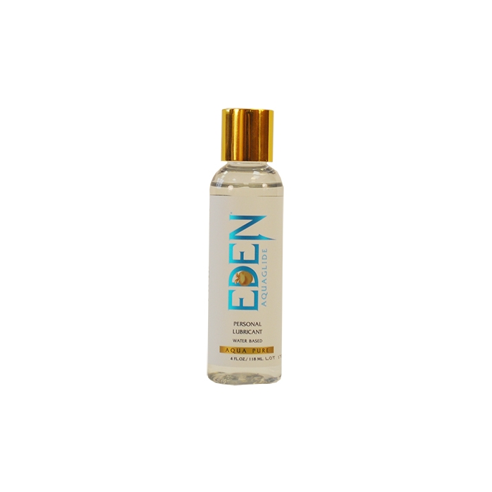 EDEN AQUAGLIDE 4 OZ CLEAR BOTTLE - Click Image to Close