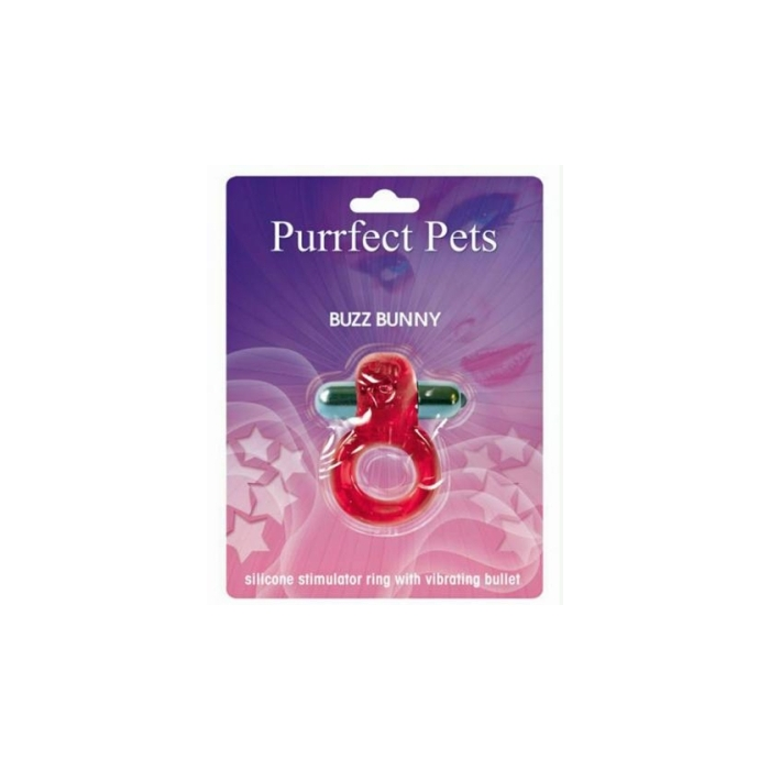 PURRFECT PET BUZZ BUNNY - MAGENTA