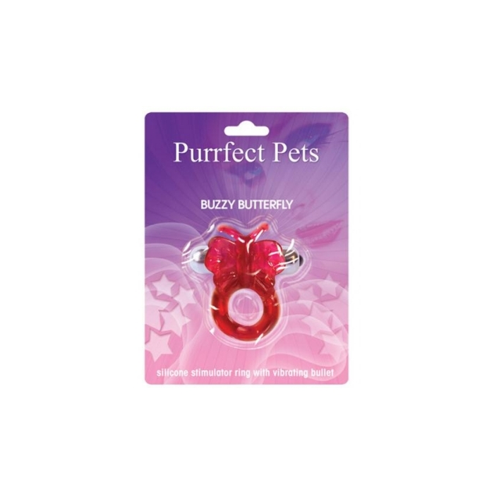 PURRFECT PET BUZZY BUTTERFLY - MAGENTA