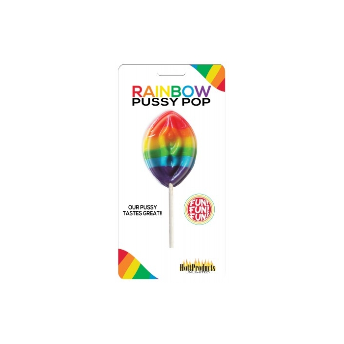 RAINBOW PUSSY POPS ( CARDED)