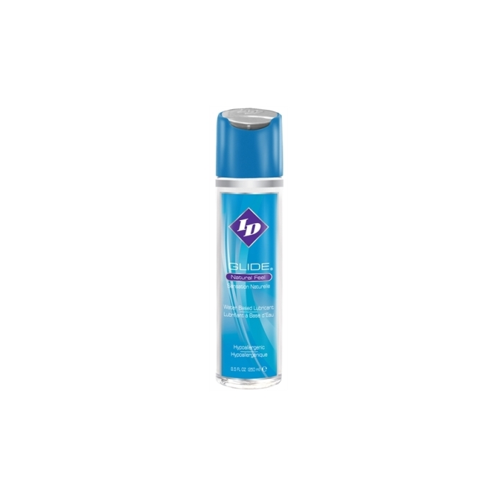 ID GLIDE H2O LUBRICANT NATURAL FEEL 8.5 OZ
