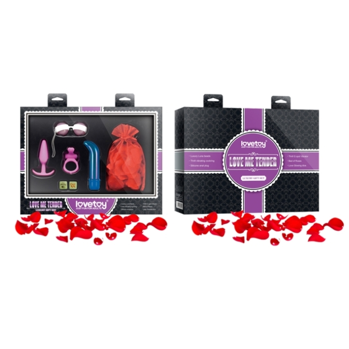 LOVE THRILLS LUXURY GIFT SET - LOVE ME TENDER