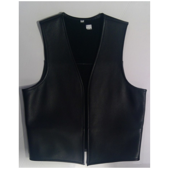 LEATHER VEST MODEL 0001 - HANDMADE