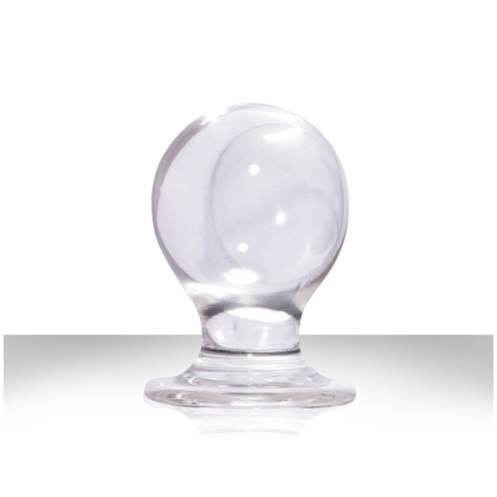 **SPECIAL** ORBITE - PLEASURE PLUG JELLY 2 3/4 - LARGE / CLEAR
