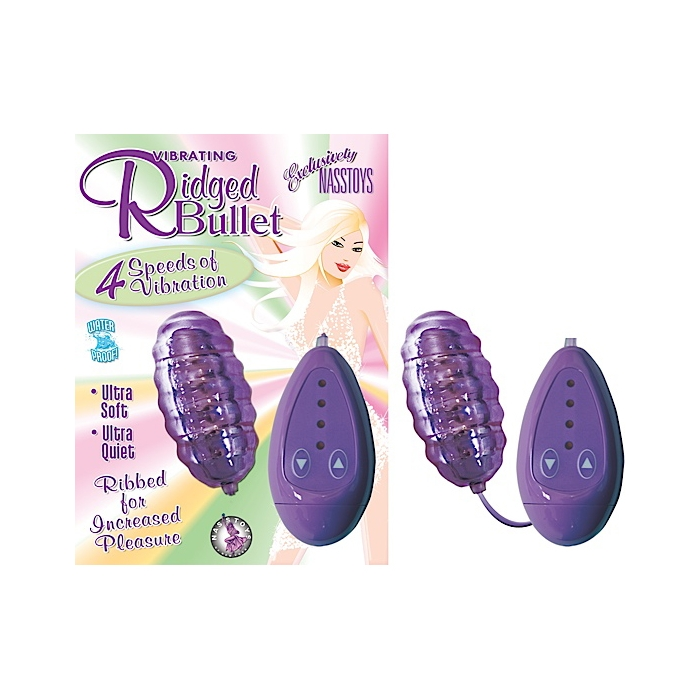 VIBRATING RIDGE BULLET-PURPLE