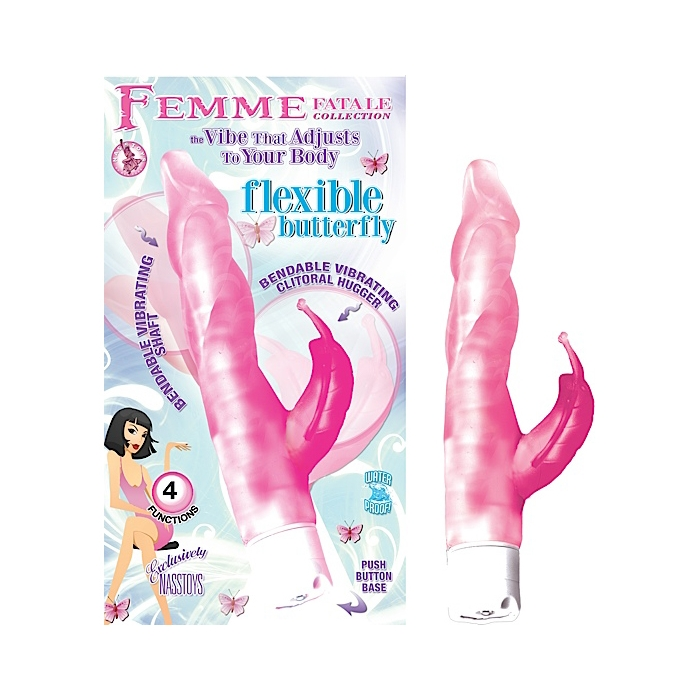 FEMME FATALE COLLECTION: FLEXIBLE BUTTERFLY - PINK