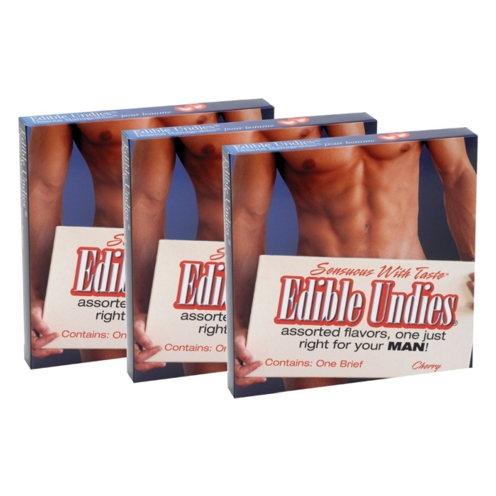 MEN'S EDIBLE UNDIES PASSION FRUIT