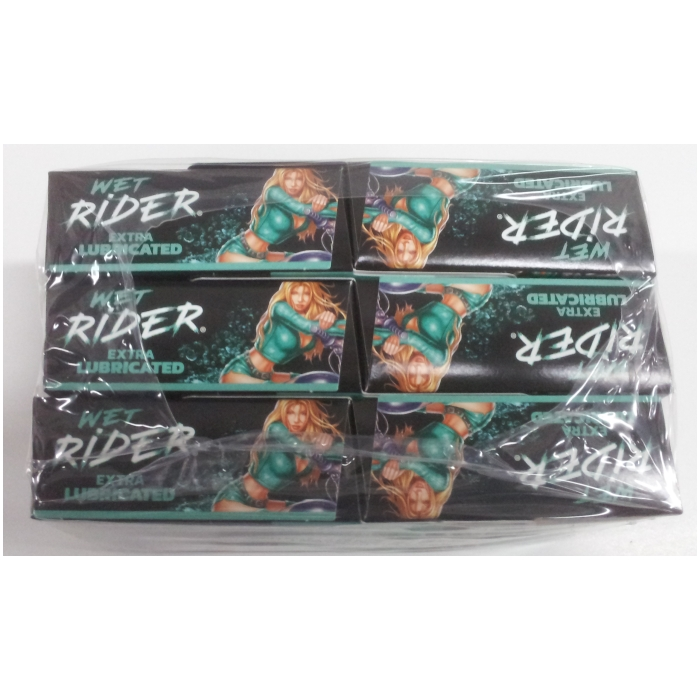RIDER WET EXTRA LUBRICATED 3CT