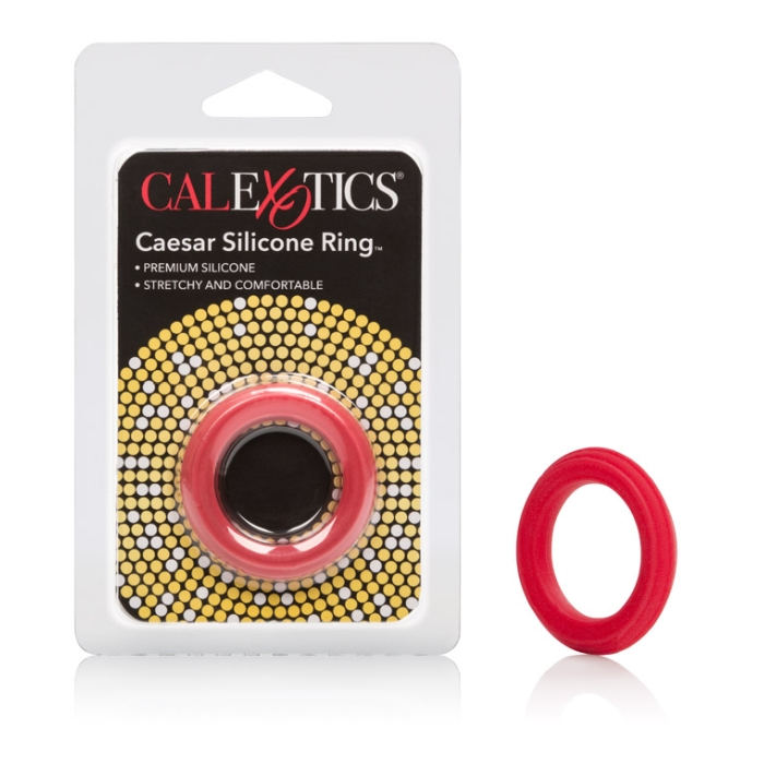 ADONIS SILICONE RINGS - CAESAR - RED