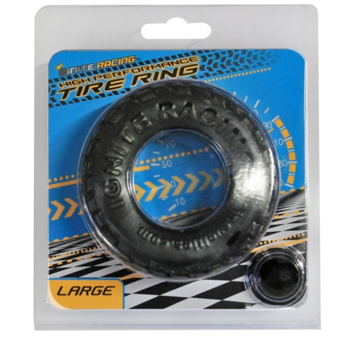 HIGH PERFORMANCE TIRE RING - BLACK (LARGE)