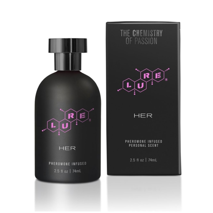 LURE BLACK LABEL FOR HER, PHEROMONE INFUSED PERSONAL SCENT