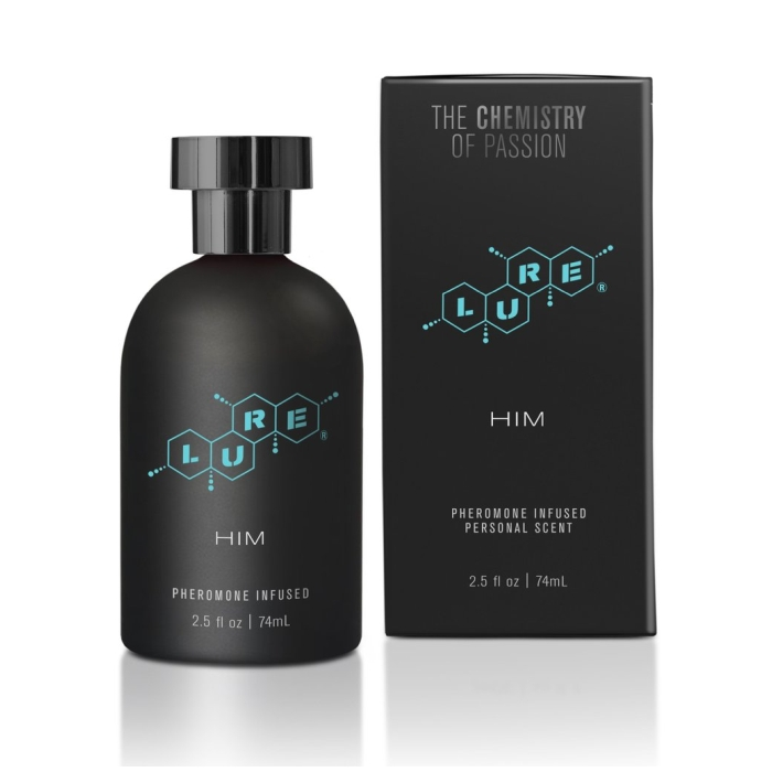 LURE BLACK LABEL FOR HIM, PHEROMONE INFUSED PERSONAL SCENT