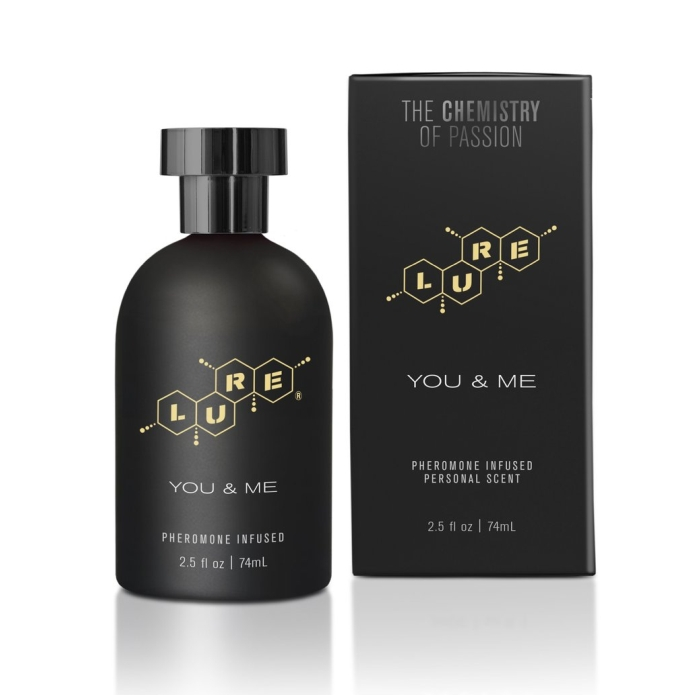 LURE BLACK LABEL YOU & ME, PHEROMONE INFUSED PERSONAL SCENT