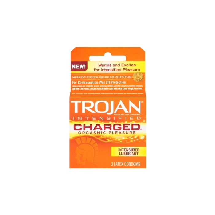 TROJAN 3'S CHARGED ORGASMIC PLEASURE