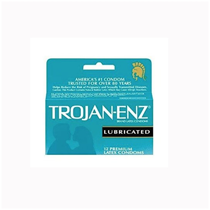 TROJAN ENZ LUBRICATED 12CT