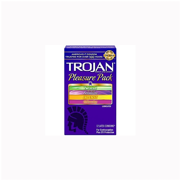 TROJAN PLEASURE PACK 12CT