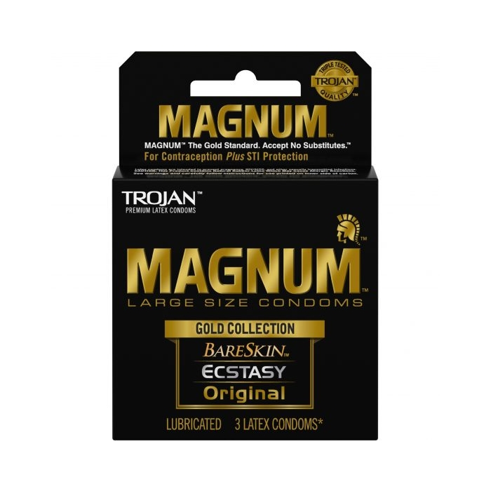 TROJAN 3'S MAGNUM LARGE GOLD COLLECTION