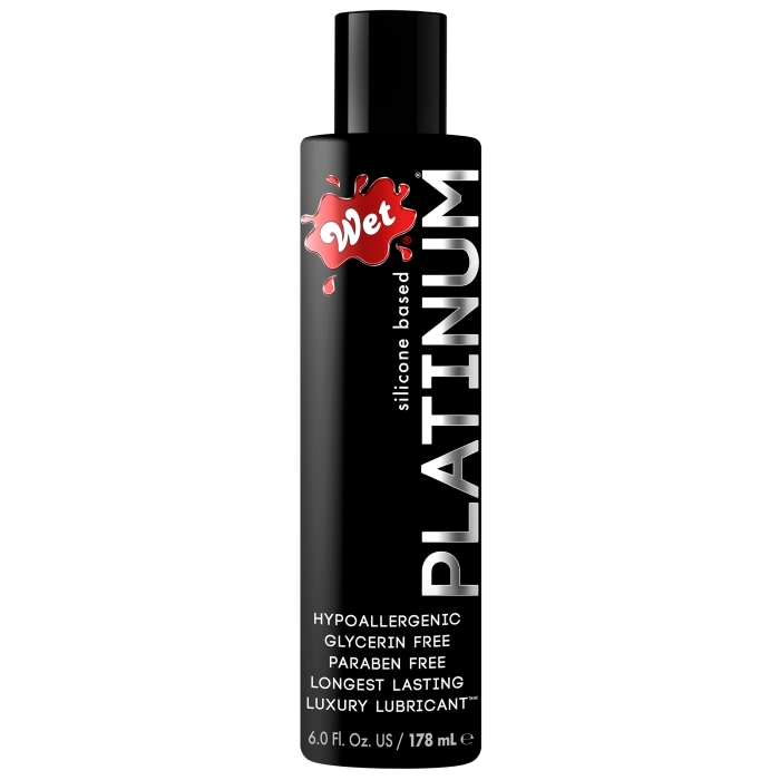 WET PLATINUM LUXURY SILICONE 5OZ